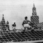 Moscow played a game against Dinamo on Red Square